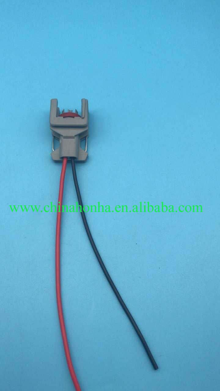 hight resolution of 2 pin wiring harness connector plug common rail injector connector plug for delphi diesel injector wire