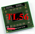 Lifetime warranty Turion TL56 1.8GHz Dual Core TMDTL56 Notebook processors Laptop CPU Socket S1 638 pin Computer Original