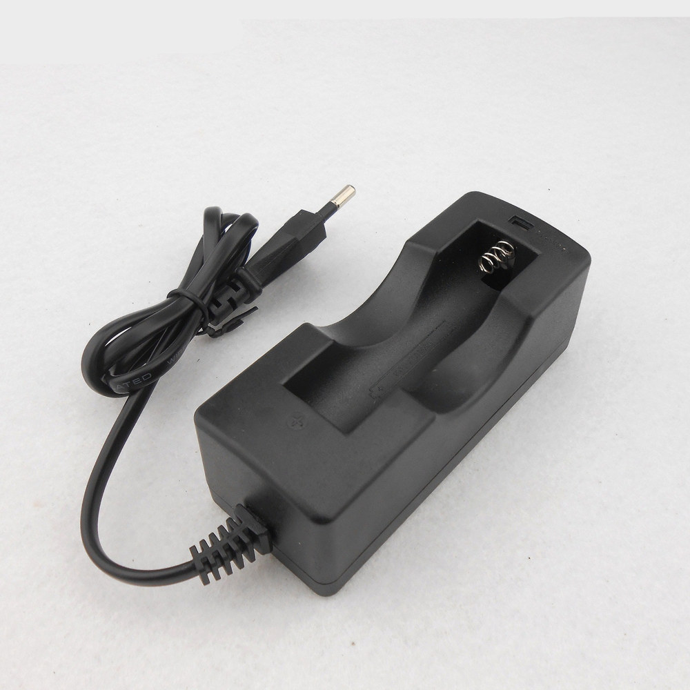 1PCS Hot-sale EU Plug Ajustable Universal Battery Charger Charging For 3.7V 18650 16340 14500 Li-ion Rechargeable Battery delipow lithium iron phosphate battery charger charger for 1450010440 3 7v 18650 rechargeable li ion cell