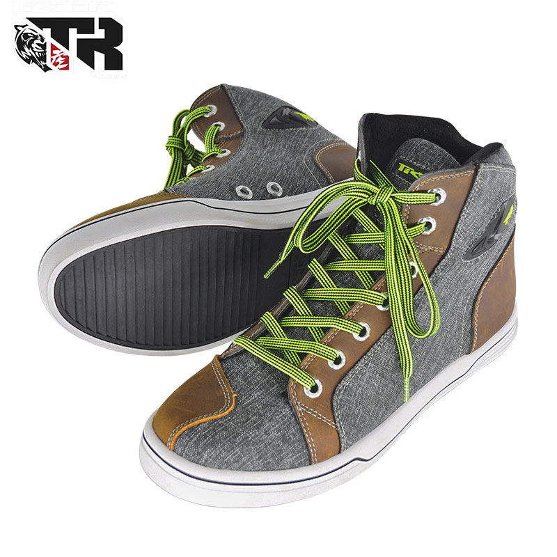 TIGER  Motorbike Racing Shoes Motorcycle Boots Men Road Street Casual Shoes Leather Motocross Moto Touring Riding ShoesTIGER  Motorbike Racing Shoes Motorcycle Boots Men Road Street Casual Shoes Leather Motocross Moto Touring Riding Shoes