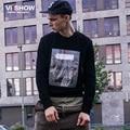 VIISHOW Mens Pullover Men Hoodies Brand Hip Hop Print Casual Sweatshirt for Men Clothing Oversize Sweatshirt Suits WDY1963
