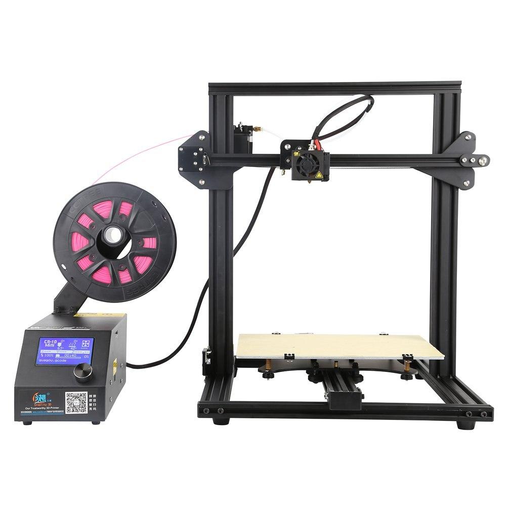 Creality CR-10mini Haute Précision 3D Imprimante Super Impression Taille 300*220*300mm Soutien PLA Matériaux Souples Bois UE Plug 3D Imprimante