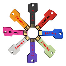 J-boxing USB Flash Drive Key Shape 8PCS/Pack 1GB 2GB 4GB 8GB 16GB 32GB Thumb Drive USB Memory Sticks Pendrives Colorful цена
