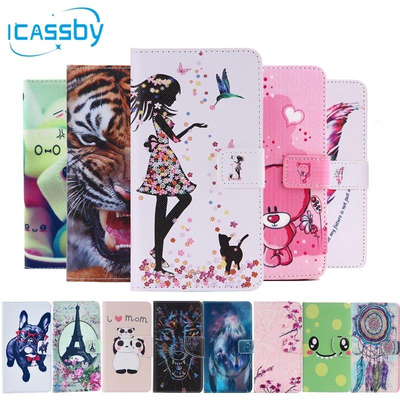 Phone Bags & Cases Case For Coque Doogee X5 Max Case Cover Sfor Coque Doogee X5 Max Pro Cases 3d Bling Cute Panda Leather Flip Cover Capinha Etui