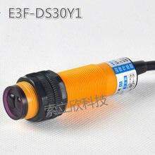 2 pcs Nova Reflexão Difusa Interruptor Fotoelétrico E3f-ds30y1 Ac 220 v Two-wire 7 Aberto-30 cm