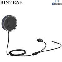 Bluetooth 4,1 CSR8635 громкой связи телефон вызова Aux USB Car Kit стерео 3,5 мм аудио приемник Музыка адаптер siri поддерживается