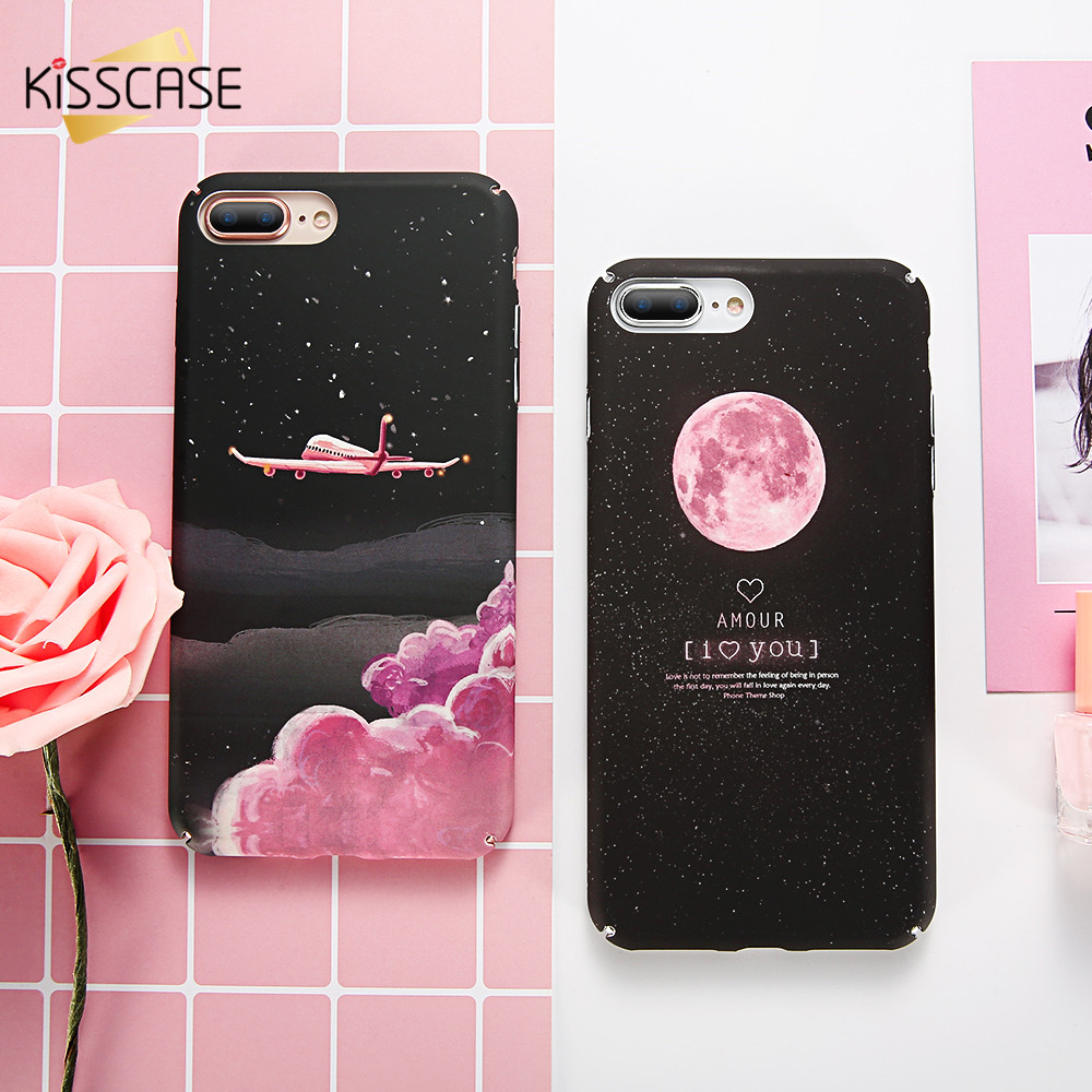 KISSCASE Cute Phone Case For iPhone 5s 6 7 8 XS Max Case