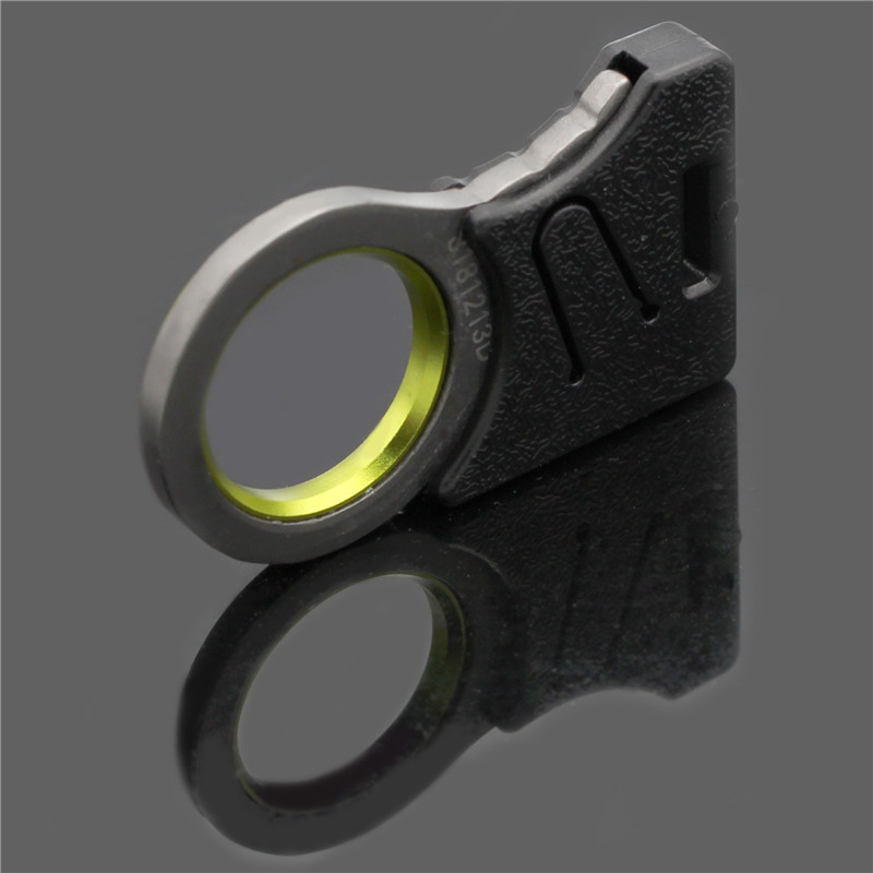 Hook knife Outdoor emergency tools Camping finger knife Key buckle easy to carry finger sharp knife cut rope auto rescue tool05