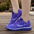 Outdoor Woman Hot sale Wedge Fashion casual Walking Shoes Breathable Soft Bottom zapatillas deportivas mujer Super star force