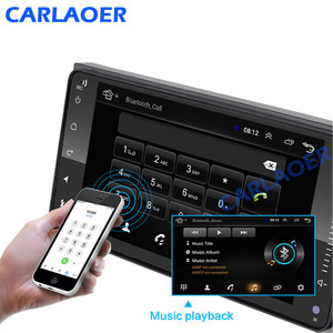Image 4 - 2 din android 8.1 Universal Car Multimedia Player Car Radio Player Stereo for Toyota VIOS CROWN CAMRY HIACE PREVIA COROLLA RAV4
