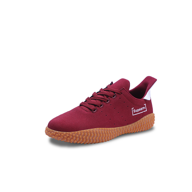 Men's Lace Up Soft Suede Krasovki Breathable Man Casual Shoes Adult Trainers Male Flock Shoes цена 2017