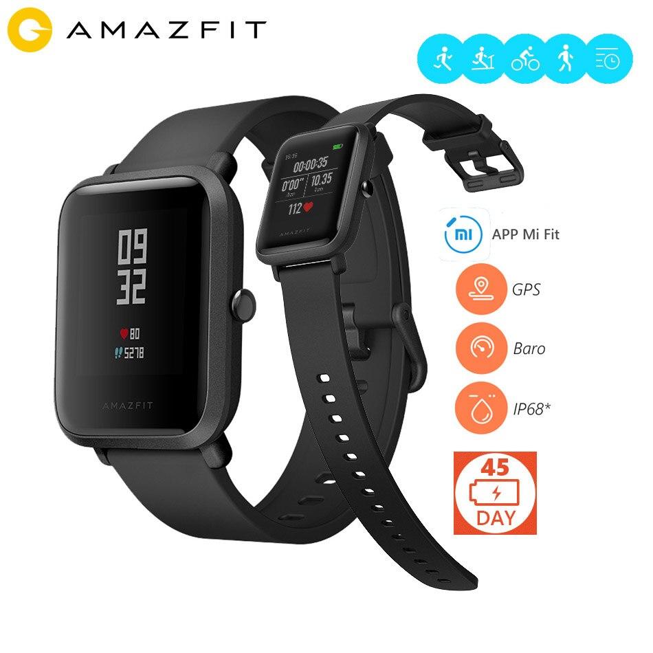 imágenes para En la Tienda! Huami Amazfit Ritmo Bip BIT Versión Deportes Reloj Inteligente Bluetooth 4.0 WiFi GPS Gloness Pulsómetro 45 Días de doble modo de espera