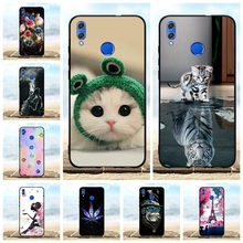 For Huawei Honor 8X Case Soft TPU Silicone For Huawei Honor View 10 Lite Cover Animal Patterned For Huawei Honor V10 Lite Funda цена 2017