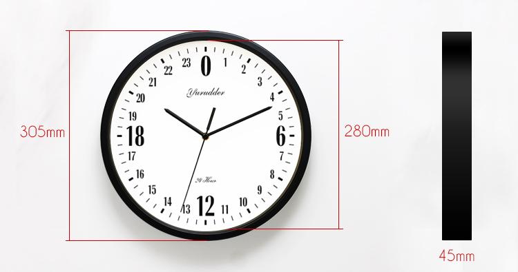 71f18a840 أحدث 12 بوصة إطار معدني الحيوان الكرتون أزياء الأطفال غرفة جولة ساعة الحائط  التصميم الحديث ساعة الحائط الزخرفيةUSD 36.96/piece