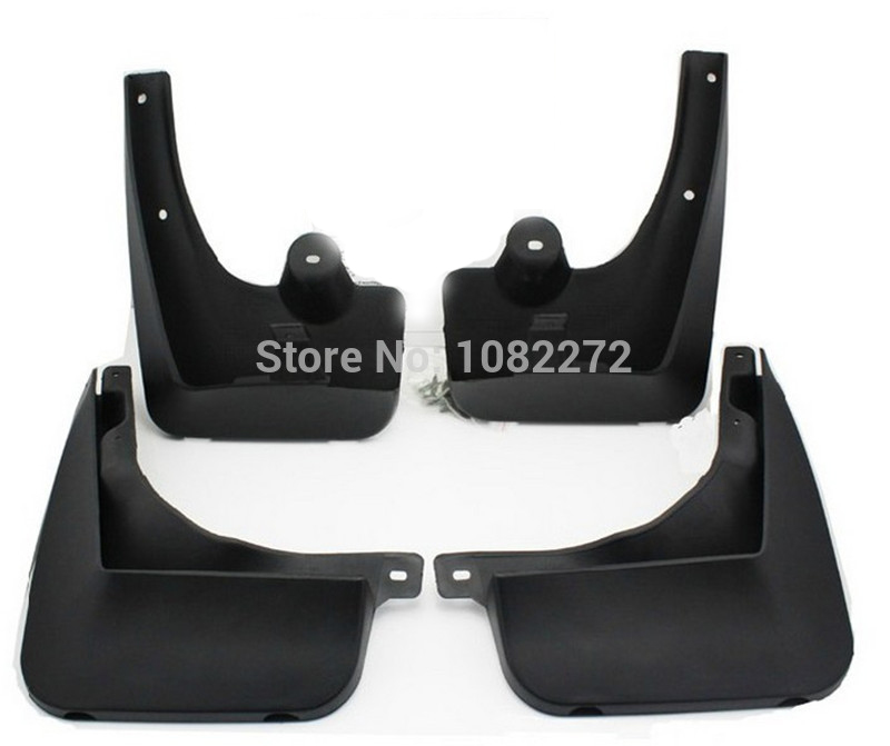 4pcs Front & Rear Mud Flaps Splash Guard Mudguard Fender For BMW X3 E83 2003-2010