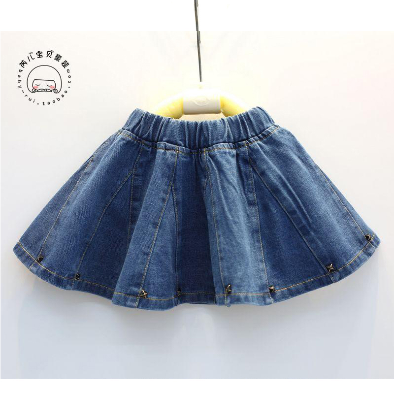 Girls Baby Kids Party Lace Belt Denim Tulle Gown Princess Fashion Dresses White.
