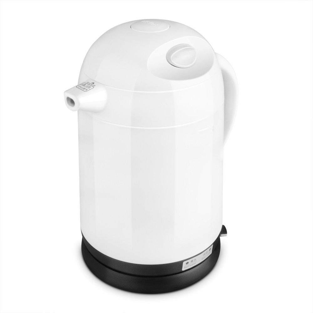 Hot - insulated double layer proof electric kettle anti-dumping stainless steel kettles Overheat Protection double layer insulated 1 7 l electric kettle for cooking water kettles anti dry protection
