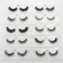 Visofree Eyelashes 3D Mink Eyelashes Crossing Mink Lashes Hand Made Full Strip Eye Lashes 34 Styles New Package cilios naturais