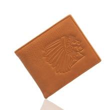 Verfolgt werden kann!! marke Echtes leder-mappe für männer/frauen vintage Kleine Thin Kartenhalter Schlanke Brieftasche Mini Reißverschluss Geldbörse