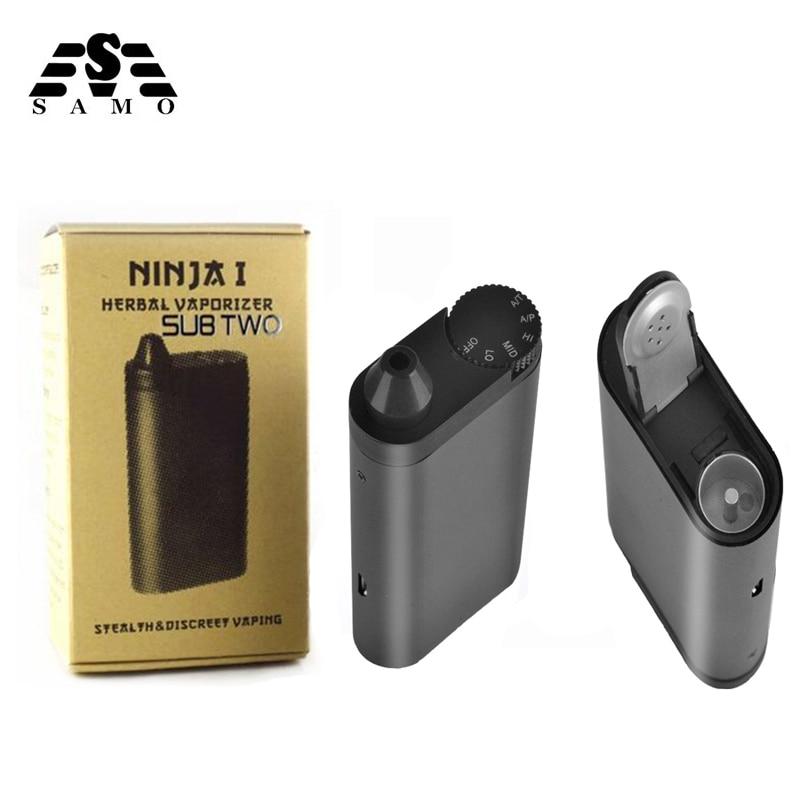 Original Dry Herb Vaporizer Handheld Personal with 2200mah battery 510 Thread E-cigeratte Temperature adjustable Vape pen kits