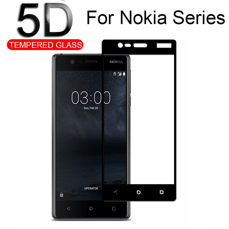 For Nokia6.1 Screen Protector Tempered Glass For Nokia 6.1 5.1 3.1 2.1 2 5 6 7 Plus 8 x5 x6 nokia6 nokia5 nokia3 glas Film cover