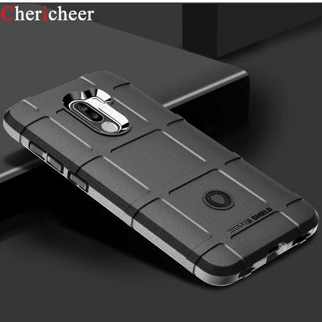 wholesale dealer 03700 e6ecc US $2.81 30% OFF|Pocophone F1 Rugged Case Pocophone F1 Case Armor Silicone  Matte Bumper Case For Xiaomi Pocophone F1 Cover Poco Pocofone F1 Case-in ...