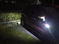 Qirun led daytime running lights drl reverse lamp fender driving lights turn signal for Volkswagen Passat CC Phaeton Pointer