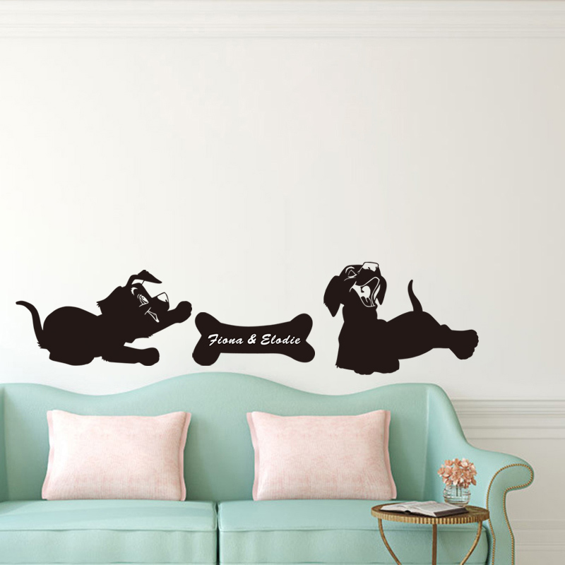 Puppy pictures home decor.