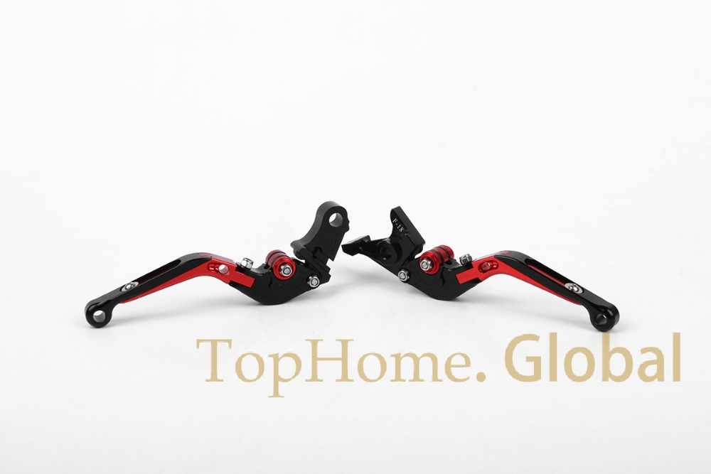 CNC Foldable Extendable Brake Clutch Levers For Honda X 11 1999 2002 Red Black 2000 2001