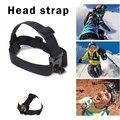 Elástica ajustável cabeça strap mount para go pro acessórios para câmeras hero 4 3 2 com cola anti-slide (para sj4000 sj5000 eken h9)