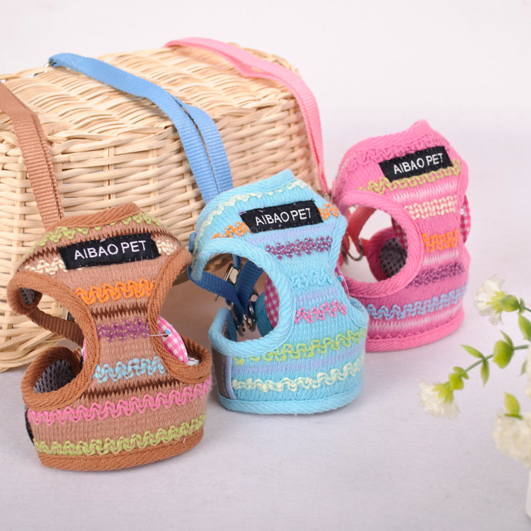 Nylon Pet Dog Harness Strap Vest Collar for Small Medium sized Dog Leads Puppy Comfort Harness nylon pet dog harness strap vest collar for small medium sized dog