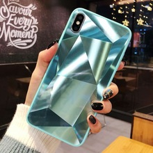 3D Diamond Glitter Mirror Case For Samsung Galaxy A5 A7 A8 A9 J3 J4 J5 J6 Plus J7 J8 2016 2017 2018 J2 Prime Soft Candy Cover стоимость