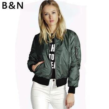 B & N Chaqueta corta con cremallera para mujer, chaqueta de motorista, Blazer para deportes, blusas con bolsillos, sólido Delgado chicas, Chic Punk, ropa de abrigo de piel sintética