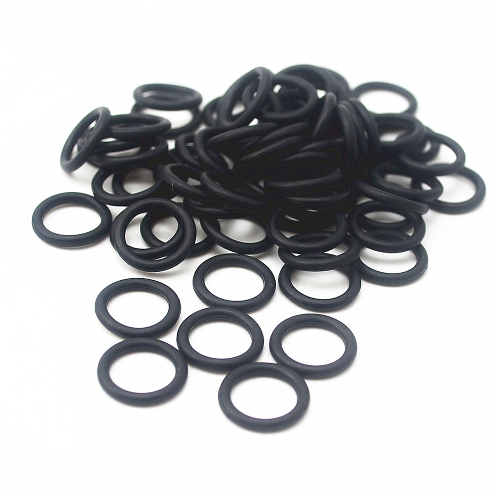 100Pcs Black O Type Sealing Rubber Ring Gaskets 11/12/13/14/15/16/17/18/19/20 *2 MM 10pcs lot 9x5x2 mm o rings rubber sealing o ring 9mm od x 2mm cs