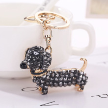 Fashion Dog Dachshund Keychain