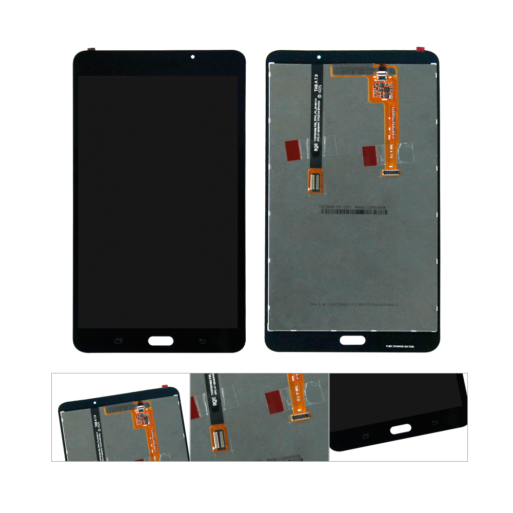 For Samsung Galaxy Tab A 7.0 (2016) SM T280 T280 LCD Display Touch Screen Digitizer Assembly Replacement|replacement touch screen|touch screen|touch screen replacement - title=