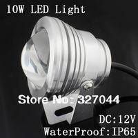 10 W astilla shell luces led luz de la piscina bajo el agua luces led llevó las luces del estanque para botes IP68 a prueba de agua 10 unids/lote