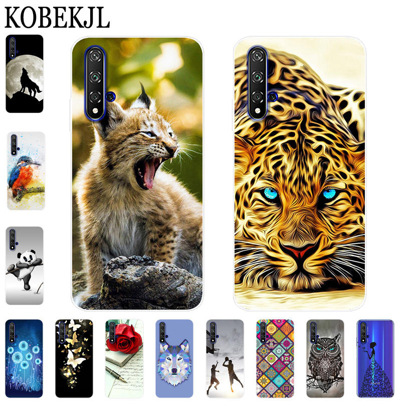 Soft Case Honor 20 Case Luxury Cartoon TPU Silicone Back Cover Phone Case For Huawei Honor 20 Pro Lite Honor20 YAL-L21 YAL-L41