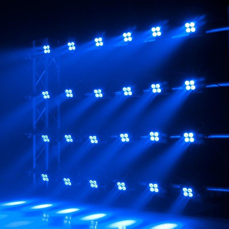 Matrix Beam Moving Heads Led Wash Light Quad RGBW 412W LED Lamp DMX Stage Lighting Dj Effect In From Lights On