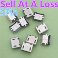 10pcs G18 Micro USB Type B Female 5Pin SMT Socket Jack Connector Port PCB Board Charging High Quality Sell At A Loss USA Belarus