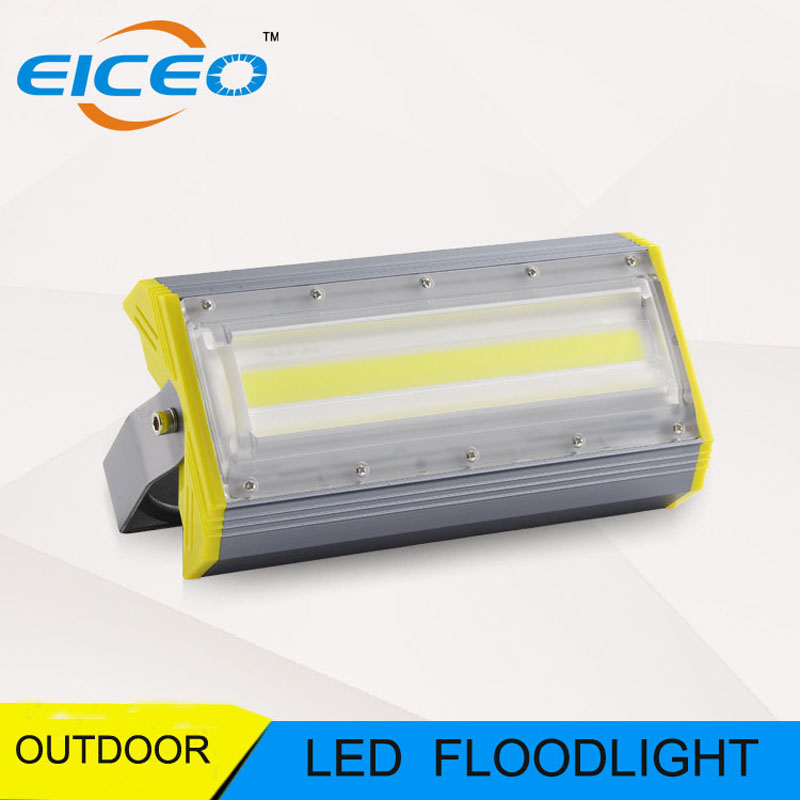 (EICEO) LED Flood Light Outdoor Lighting Reflector Lights Projector Spotlight Lamp Project Lamps 50W 100W Advertising Projection 80w led flood lights ip65 outdoor led flood light advertising led light