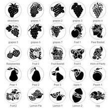 Печать для печати на ананасе, фруктах, воске, сургучке, клубнике, винограде, яблоках, фруктах, груши, персика, Лимоне, овощей, без деревянной р...