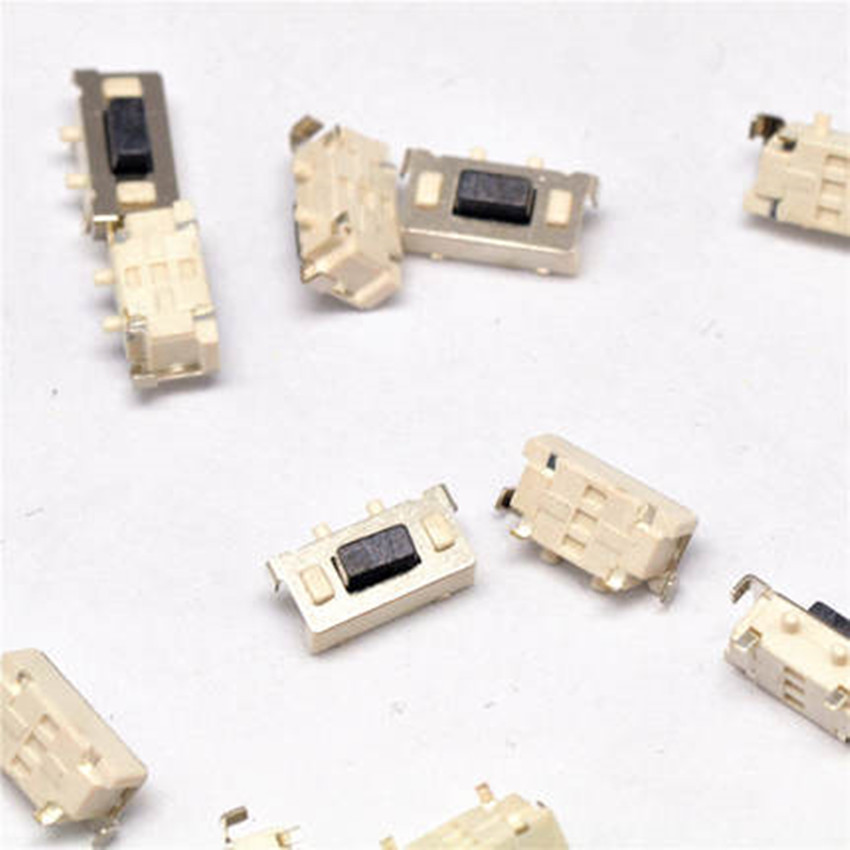 10PCS 3x6x3.5mm SMT SMD Tact Tactile Push Button Switch SMD Surface Mount Momentary MP3 MP4 MP5 Tablet PC power button switch 100 x smd smt pcb momentary 2 pin spst tactile tact switch 6mm x 3mm x 3 5mm