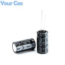 10 pcs Electrolytic Capacitors 10V 4700UF 13X21MM Aluminum Electrolytic Capacitor