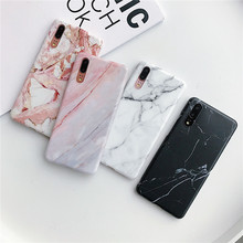 White black marble phone cover funda for Huawei Nova 3 phone case 3i P20 pro lite Mate 20 pro lite p30 pro lite oregon 160sxea041 pro lite