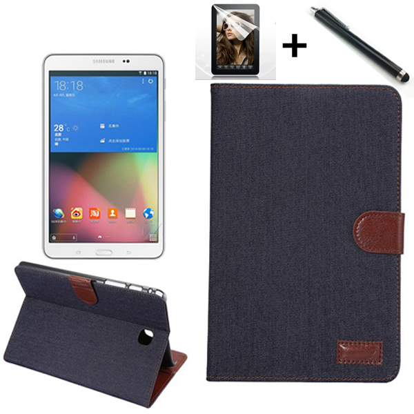 High Quality wallet pu leather leather Cover case for Samsung GALAXY Tab A 8.0 T350 T35 tablet case+film+pen 1pc high quality pu leather russian driver s license cover for car driving documents the cover of the passport bih002 pr49