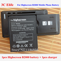 Highscreen B2000 Mobile Phone Battery 2000mAh 3.7V + Universal Wall Battery Charger