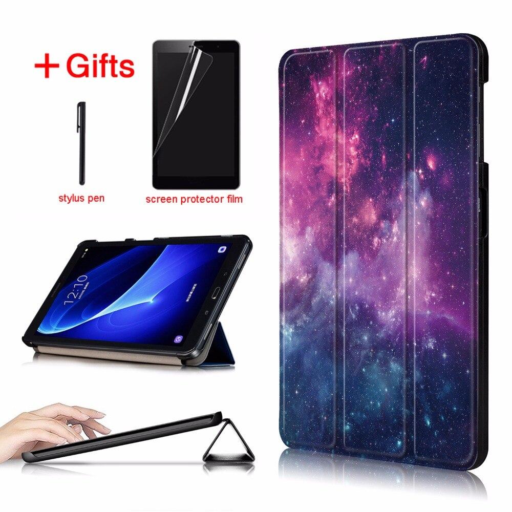 Magnética Delgada funda plegable para Samsung Galaxy Tab A6 10,1 2016 SM-T580 SM-T585 cubierta para Samsung Galaxy Tab A 10,1 caso