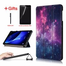 Slim Magnetic Folding cover case for Samsung Galaxy Tab A6 10.1 2016 SM-T580 SM-T585 cover for Samsung Galaxy Tab A 10.1 case(China)