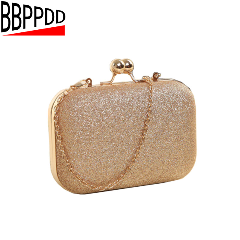 BBPPDD Woman Evening bag  Small Mini Bag Women Shoulder Bags Crossbody Women Gold Clutch Bags for Party Day Clutches Purses